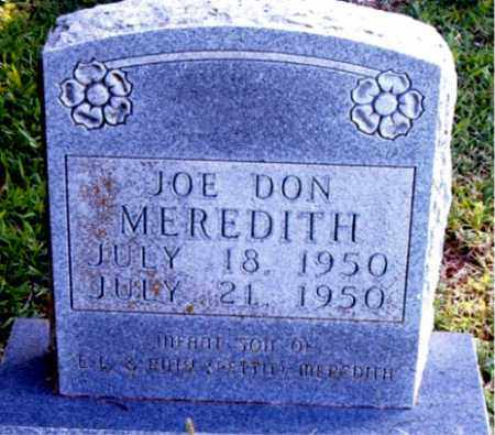 MEREDITH, JOE DON - Boone County, Arkansas | JOE DON MEREDITH - Arkansas Gravestone Photos