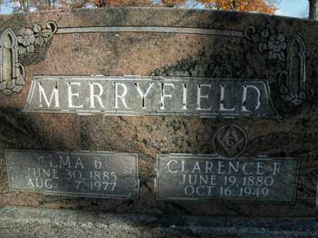MERRYFIELD, CLARENCE R. - Boone County, Arkansas | CLARENCE R. MERRYFIELD - Arkansas Gravestone Photos