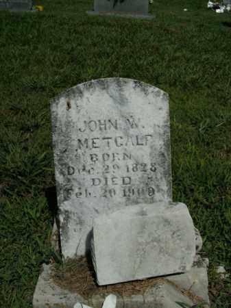 METCALF, JOHN W. - Boone County, Arkansas | JOHN W. METCALF - Arkansas Gravestone Photos