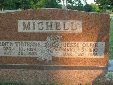 MICHELL, JESSE OLIVE - Boone County, Arkansas | JESSE OLIVE MICHELL - Arkansas Gravestone Photos