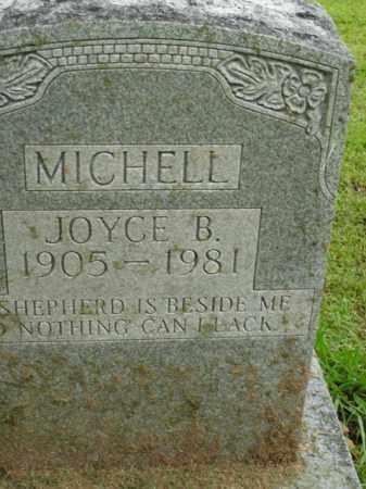 MICHELL, JOYCE B. - Boone County, Arkansas | JOYCE B. MICHELL - Arkansas Gravestone Photos
