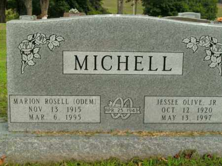 MICHELL, MARION ROSELL - Boone County, Arkansas | MARION ROSELL MICHELL - Arkansas Gravestone Photos