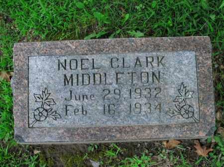 MIDDLETON, NOEL CLARK - Boone County, Arkansas   NOEL CLARK MIDDLETON - Arkansas Gravestone Photos