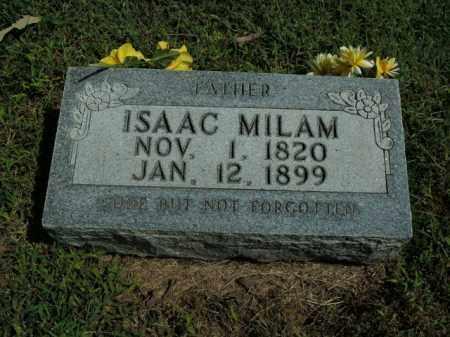 MILAM, ISAAC - Boone County, Arkansas | ISAAC MILAM - Arkansas Gravestone Photos