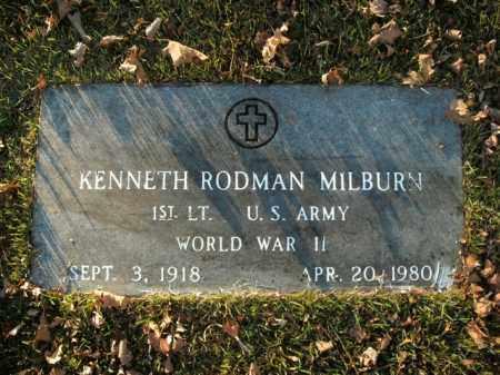 MILBURN  (VETERAN WWII), KENNETH RODMAN - Boone County, Arkansas | KENNETH RODMAN MILBURN  (VETERAN WWII) - Arkansas Gravestone Photos
