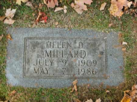 MILLARD, HELEN - Boone County, Arkansas   HELEN MILLARD - Arkansas Gravestone Photos