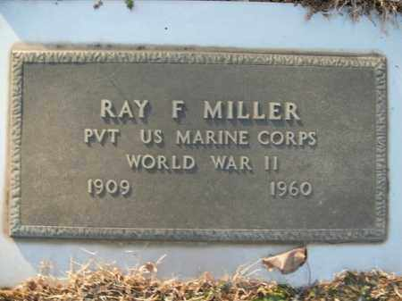 MILLER  (VETERAN WWII), RAY F - Boone County, Arkansas   RAY F MILLER  (VETERAN WWII) - Arkansas Gravestone Photos