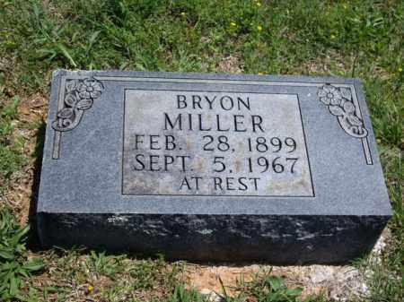 MILLER, BRYON - Boone County, Arkansas | BRYON MILLER - Arkansas Gravestone Photos
