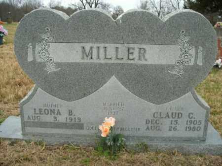 MILLER, CLAUD C. - Boone County, Arkansas | CLAUD C. MILLER - Arkansas Gravestone Photos