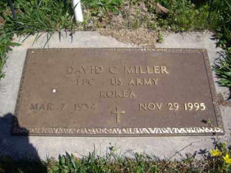 MILLER (VETERAN KOR), DAVID C. - Boone County, Arkansas   DAVID C. MILLER (VETERAN KOR) - Arkansas Gravestone Photos