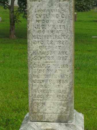 MILLER, EVELINE C. - Boone County, Arkansas | EVELINE C. MILLER - Arkansas Gravestone Photos