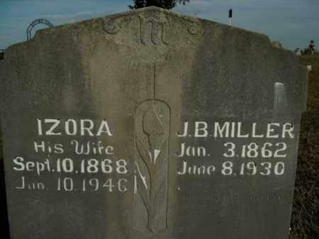MILLER, IZORA - Boone County, Arkansas | IZORA MILLER - Arkansas Gravestone Photos