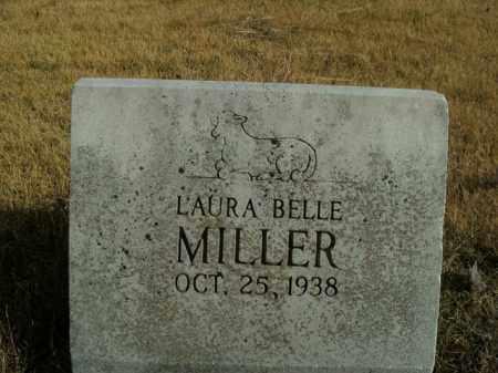 MILLER, LAURA BELLE - Boone County, Arkansas   LAURA BELLE MILLER - Arkansas Gravestone Photos