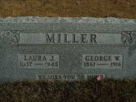 MILLER, GEORGE W. - Boone County, Arkansas   GEORGE W. MILLER - Arkansas Gravestone Photos