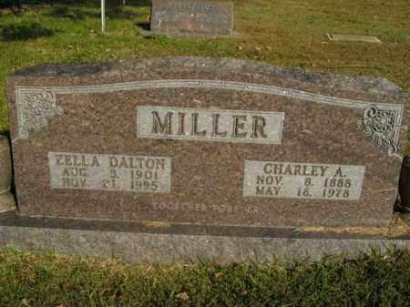MILLER, CHARLEY A. - Boone County, Arkansas   CHARLEY A. MILLER - Arkansas Gravestone Photos