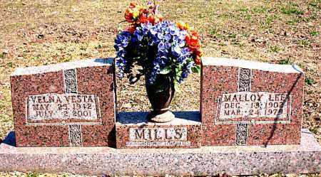 MILLS, VELNA VESTA - Boone County, Arkansas | VELNA VESTA MILLS - Arkansas Gravestone Photos