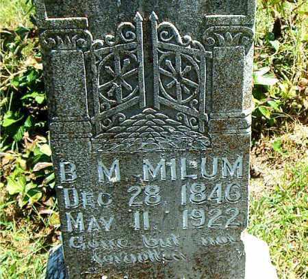 MILUM, BIRD MOORE - Boone County, Arkansas | BIRD MOORE MILUM - Arkansas Gravestone Photos