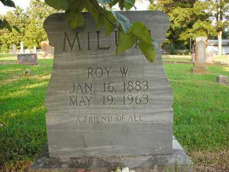 MILUM, ROY WAMON - Boone County, Arkansas | ROY WAMON MILUM - Arkansas Gravestone Photos