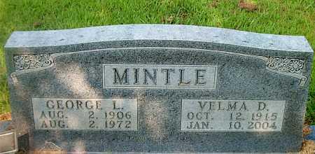 MINTLE, GEORGE L. - Boone County, Arkansas | GEORGE L. MINTLE - Arkansas Gravestone Photos