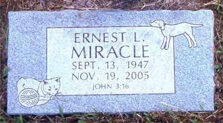 MIRACLE, ERNEST  L. - Boone County, Arkansas | ERNEST  L. MIRACLE - Arkansas Gravestone Photos