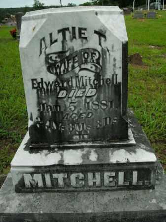 MITCHELL, ALTIE T. - Boone County, Arkansas | ALTIE T. MITCHELL - Arkansas Gravestone Photos