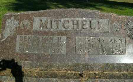 MITCHELL, LEVONA ANN - Boone County, Arkansas | LEVONA ANN MITCHELL - Arkansas Gravestone Photos