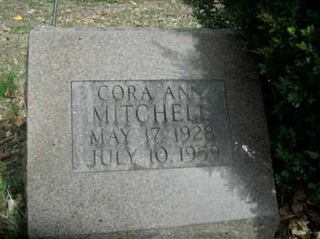MITCHELL, CORA ANN - Boone County, Arkansas | CORA ANN MITCHELL - Arkansas Gravestone Photos