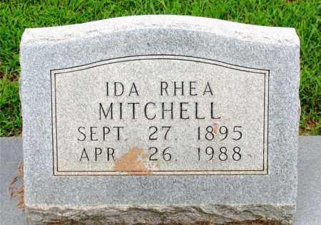 RHEA MITCHELL, IDA - Boone County, Arkansas | IDA RHEA MITCHELL - Arkansas Gravestone Photos