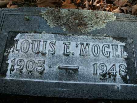 MOGEL, LOUIS E. - Boone County, Arkansas | LOUIS E. MOGEL - Arkansas Gravestone Photos