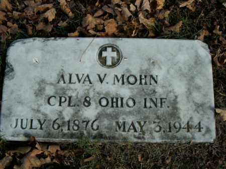 MOHN  (VETERAN), ALVA V - Boone County, Arkansas | ALVA V MOHN  (VETERAN) - Arkansas Gravestone Photos