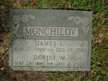 MONCHILOV, JAMES L. - Boone County, Arkansas | JAMES L. MONCHILOV - Arkansas Gravestone Photos
