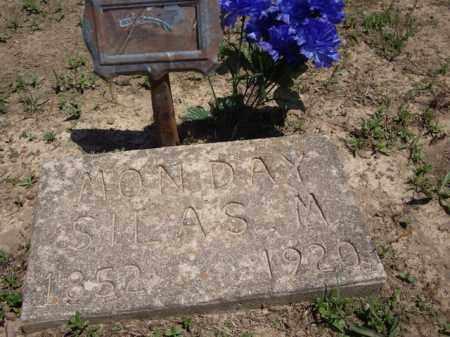 MONDAY, SILAS M. - Boone County, Arkansas | SILAS M. MONDAY - Arkansas Gravestone Photos
