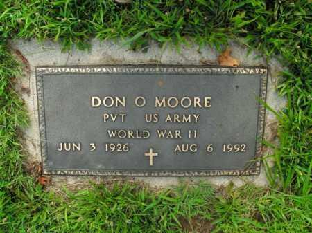 MOORE  (VETERAN WWII), DON O. - Boone County, Arkansas | DON O. MOORE  (VETERAN WWII) - Arkansas Gravestone Photos