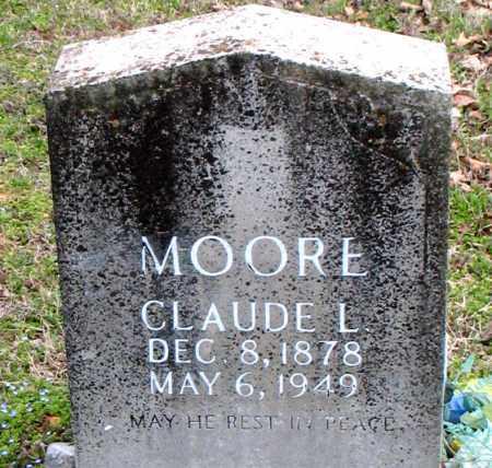 MOORE, CLAUDE L. - Boone County, Arkansas | CLAUDE L. MOORE - Arkansas Gravestone Photos