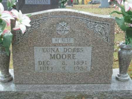MOORE, EUNA  - Boone County, Arkansas | EUNA  MOORE - Arkansas Gravestone Photos