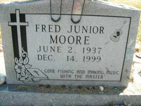 MOORE, FRED JUNIOR - Boone County, Arkansas   FRED JUNIOR MOORE - Arkansas Gravestone Photos