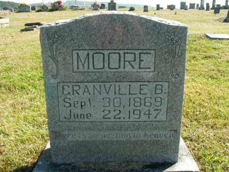 MOORE, GRANVILLE B. - Boone County, Arkansas   GRANVILLE B. MOORE - Arkansas Gravestone Photos
