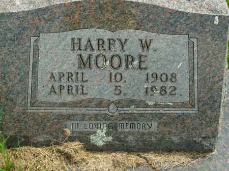 MOORE, HARRY WILLIAM - Boone County, Arkansas | HARRY WILLIAM MOORE - Arkansas Gravestone Photos