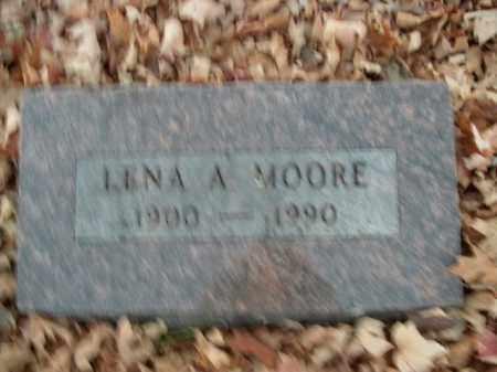 MOORE, LENA A. - Boone County, Arkansas   LENA A. MOORE - Arkansas Gravestone Photos