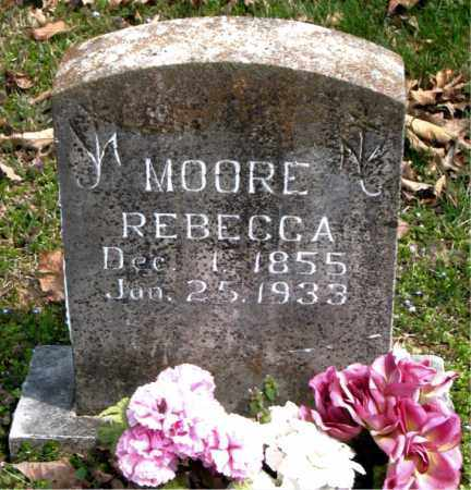 MOORE, REBECCA - Boone County, Arkansas   REBECCA MOORE - Arkansas Gravestone Photos