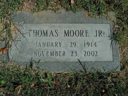 MOORE, THOMAS, JR - Boone County, Arkansas | THOMAS, JR MOORE - Arkansas Gravestone Photos