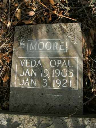 MOORE, VEDA OPAL - Boone County, Arkansas | VEDA OPAL MOORE - Arkansas Gravestone Photos