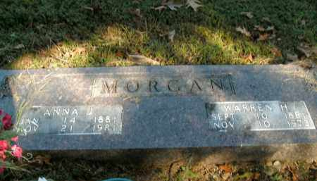 MORGAN, WARREN H. - Boone County, Arkansas | WARREN H. MORGAN - Arkansas Gravestone Photos