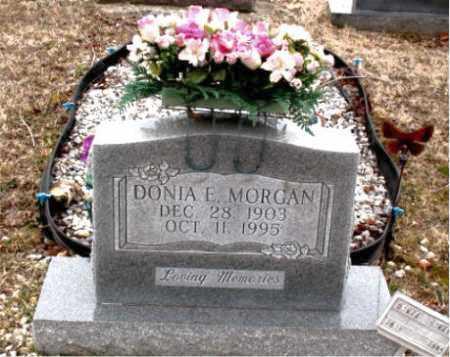 MORGAN, DONIA  E. - Boone County, Arkansas   DONIA  E. MORGAN - Arkansas Gravestone Photos