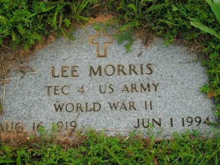 MORRIS  (VETERAN WWII), LEE - Boone County, Arkansas   LEE MORRIS  (VETERAN WWII) - Arkansas Gravestone Photos