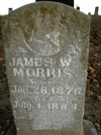 MORRIS, JAMES W. - Boone County, Arkansas   JAMES W. MORRIS - Arkansas Gravestone Photos