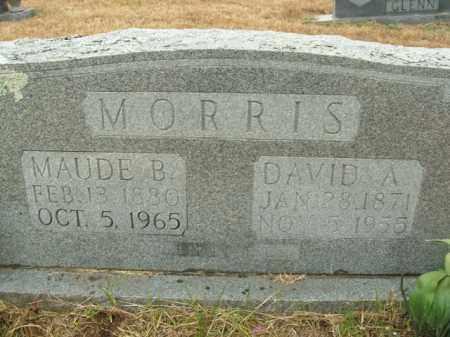 MORRIS, DAVID A. - Boone County, Arkansas | DAVID A. MORRIS - Arkansas Gravestone Photos