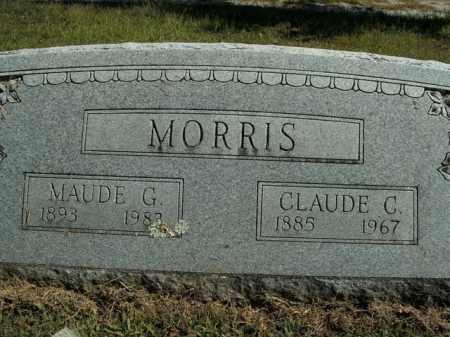 MORRIS, MAUDE G. - Boone County, Arkansas | MAUDE G. MORRIS - Arkansas Gravestone Photos