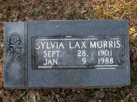 MORRIS, SYLVIA LAX - Boone County, Arkansas   SYLVIA LAX MORRIS - Arkansas Gravestone Photos
