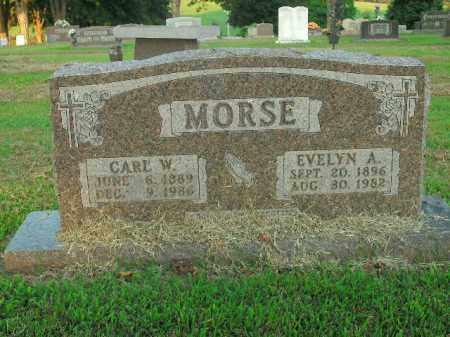 MORSE, EVELYN  A. - Boone County, Arkansas | EVELYN  A. MORSE - Arkansas Gravestone Photos